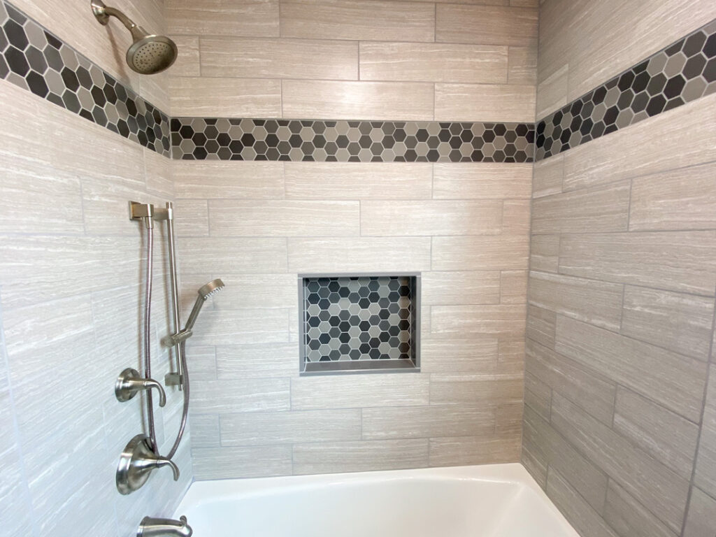 Picture of Bathroom Remodeling and tile work in shower